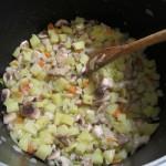 Гъбена супа на котлона